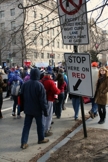 'Forward On Climate': March Here On Red