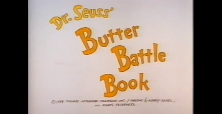 The Butter Battle Book -Cover Image